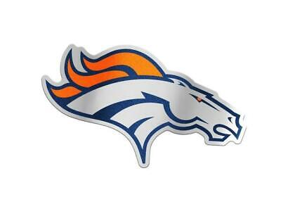 Denver Broncos Deluxe Badge Auto Emblem Logo Aufkleber NFL Football