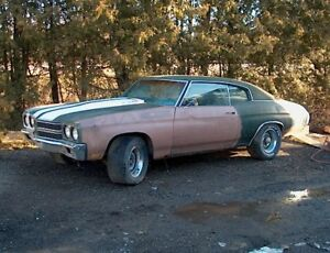 1970 Chevelle 2 dr WANTED