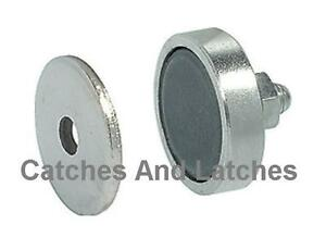cabinet magnetic catch magnetic catch for metal cabinet doors 3kg catches ebay 12964