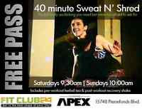 FREE BOOTCAMP CLASS - 40 minute Sweat N' Shred