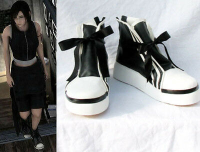 Final Fantasy VII FF 7 Tifa Lockhart Cosplay Schuhe Kostüm Shoes Advent (Tifa Lockhart Cosplay Kostüm)