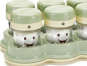 The Original Baby Bullet Storage Containers+Baby Cubesx4(NEW)