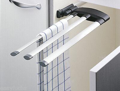 Hailo Secco Design - Handtuchhalter 3-armig Alu neu, das Original
