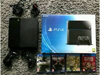 PlayStation 4 console and games
