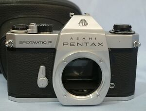 Pentax Spotmatic F (or 1000) & M42 55mm lens (like the K1000)