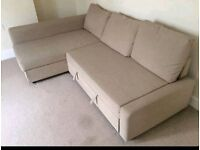 Beautiful Corner Sofa bed. Like New condition. Only £300. *Free Delivery and Free Assembly*