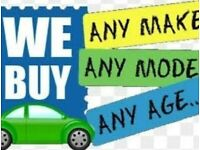 WE BUY ANY CAR - DEAD OR ALIVE - IMMEDIATE PAYMENT