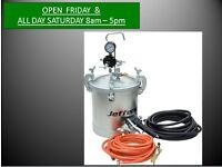 Jefferson 10 LITRE PRESSURISED PAINT POT Pressure Sprayer JEFA052