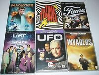 Série TV : Lost in Space Fame UFO Invaders MacGyver 22$ et+