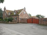 4 BEDROOM PROPERTY WITH STABLE.ON 5 ACRES. NO ONWARD CHAIN.