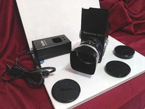 Caméra pour professionnel, 2 et quart Rollei flex