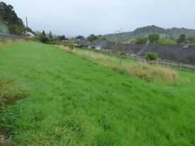 Land field allotment to let rent Calver Hope Valley Peak District
