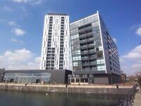 Studio flat in Millennium Tower, 250 The Quays, Salford, M50