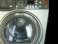 One Washing machine and one tumble dryer