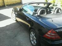 Mercedes-Benz convertible SLK 230 In BLACK