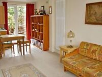 Delightful 2 bed flat complete with private patio terrace Elias Place, Oval