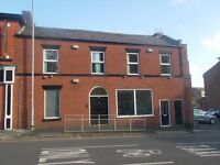 Spacious office & shop premises in Bolton city centre cheap rent & business rates