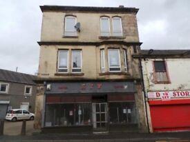 Unfurnished - 1 Bedroom Flat to Rent - Craighouse Square, Kilbirnie, KA25 7AF