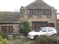 1 Bedroom Cottage House for rent / to let Bradford BD7 DSS Welcome