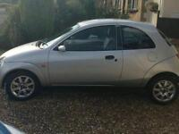 Silver ford Ka special addition