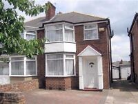 3 Bedroom Semi Detached House in HodgeHill with ORP & Garage