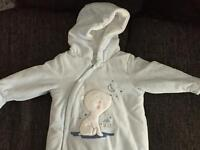 Selection of baby clothes up to 1month