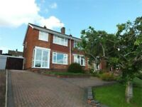 Unfurnished 3 Bed semi detached house for rent