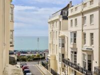3 month sea-view flat rental 01 March-31 May 2018 Kemptown village