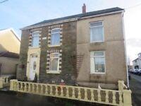 3 bed detached house in villaage of Gwaun-Cae-Gurwen, nr Ammanford, South West Wales
