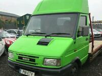 1997 iveco daily recovery truck alloy bed ready for work