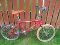 mk1 raleigh burner frame or full bike wanted cash waiting