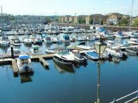 2 bed terrace house for rent overlooking the marina