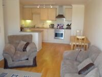 Double room to rent in shared modern two-bedroomed city centre apartment