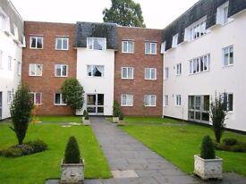 Unfurnished 2 double bedroom ground floor flat inc Garage for Rent Ambassador Court, Leamington Spa
