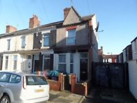 L6, Anfield 2 bed house, gas central heating, double glazing