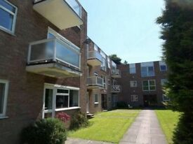 2 bed, fully furnished flat with balcony, single garage, excellent condition, next to Roundhay Park