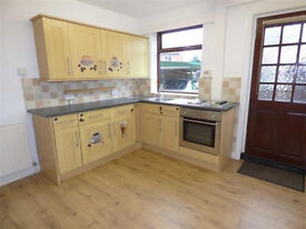 TWO bedroom mid terrance house to rent I do not accept anyone on Housing Benefit