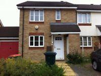 Stunning spacious two bedroom house with garden in Beckton, E6