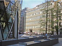 GHERKIN PIAZZA Office Space for rent 5 minutes walking distance of Liverpool Street & Bank Stations