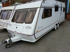 5 FLEETWOOD COLCHESTER TWIN WHEEL WITH END BEDROOM FULL AWNING MORE IN STOCK AND WE CAN DELIVER