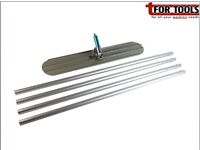 4ft Magnesium bullfloat kit 4 poles. Concrete laying tools and bull floats
