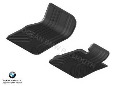 Genuine BMW All Weather  Rubber Mats Front F30F31F34 X Drive   51472365968