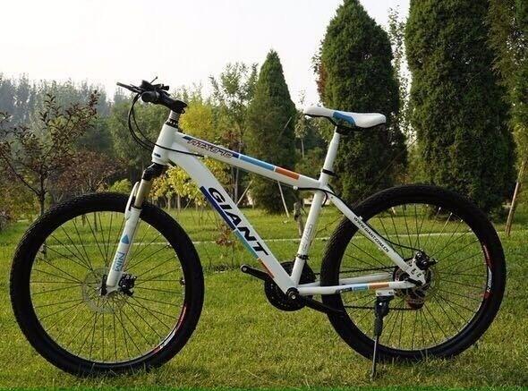 White 2016 Giant Mountain bike NEW boxed 26inch Medium Size