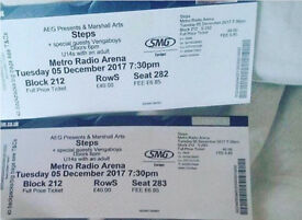 Two steps tickets