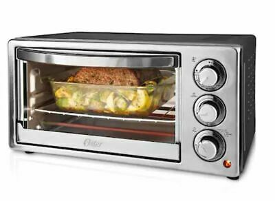 Oster 6-Slice Countertop Convection Toaster Oven Stainless Steel TSSTTVF817