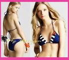 Juicy Couture Striped Bikini Swimwear for Women
