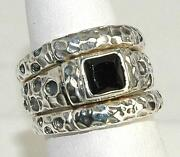 Vintage Sterling Silver Ring Size 9