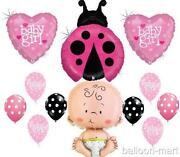 Pink Ladybug Baby Shower