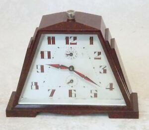 Art Deco Clock Ebay
