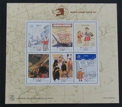 nystamps Macao Stamp # 610 Mint OG NH $50   L23y3356